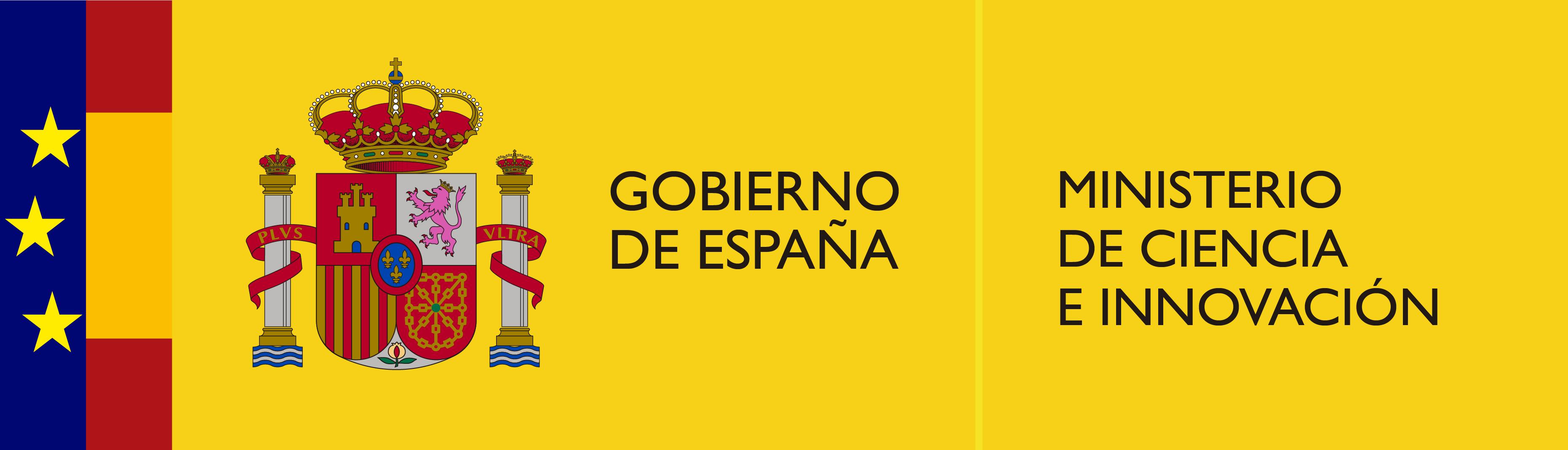 Logo Ministerio de Ciencia, Innovación y Universidades